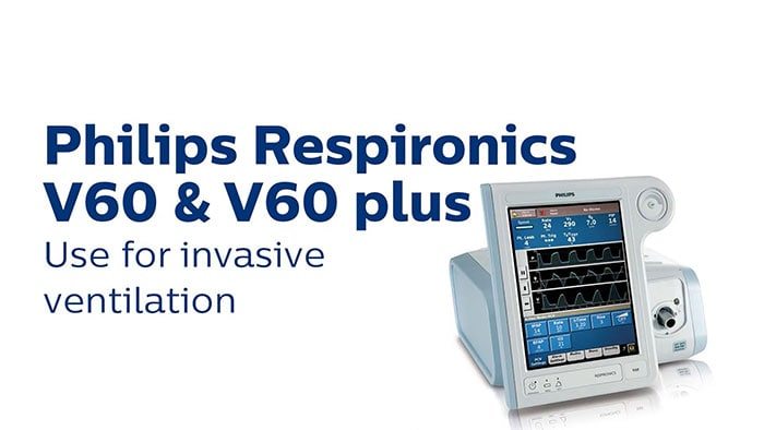 Philips Respironics V60 Use for Invasive Ventilation