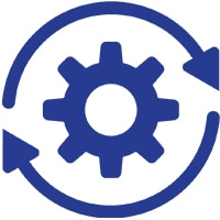 Managed technology services icon