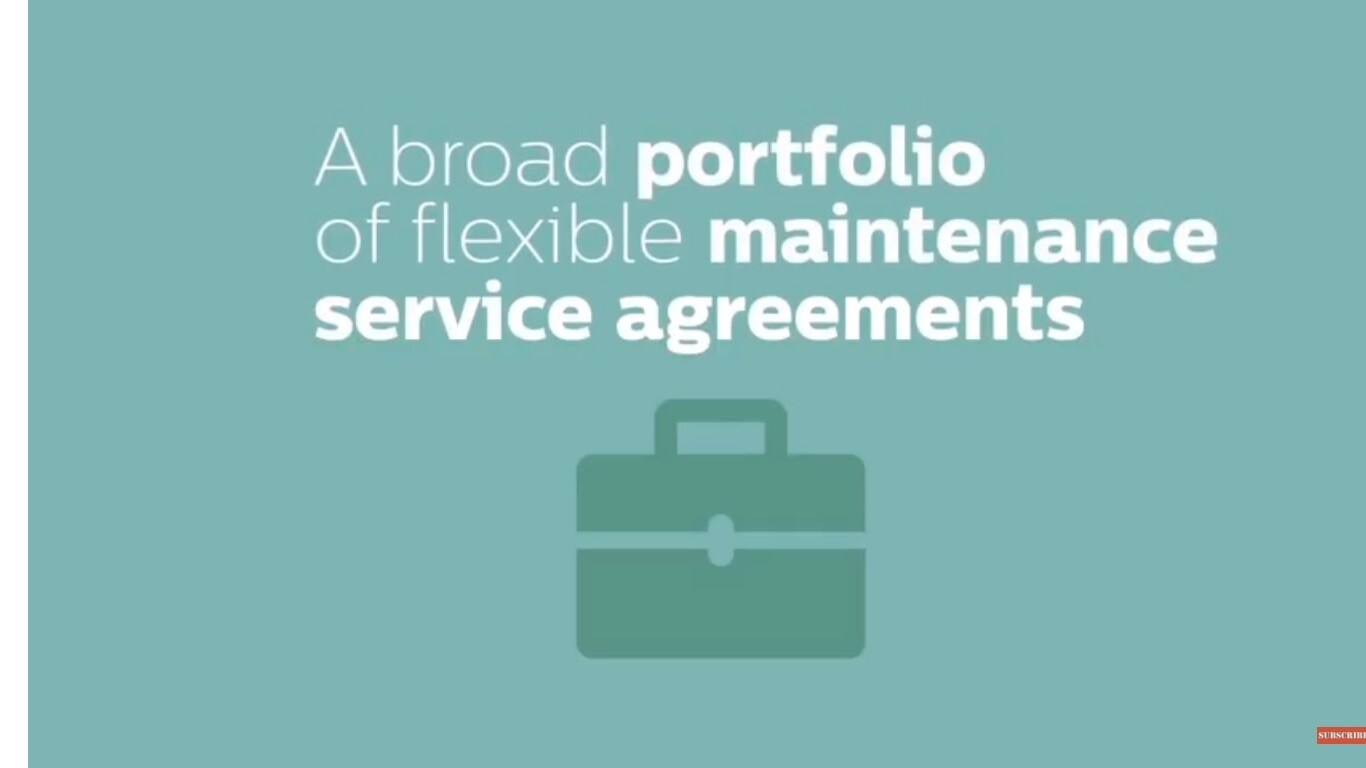 Philips RightFit service agreements