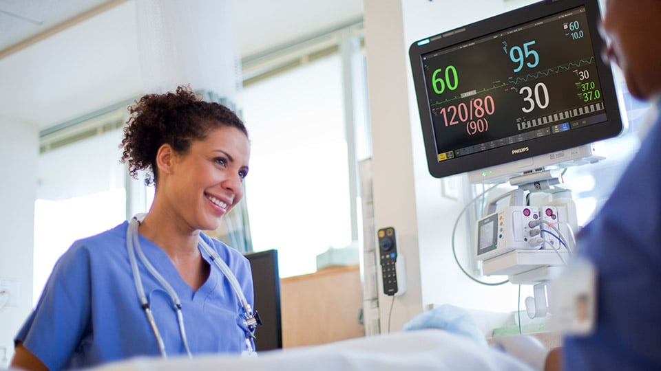 clinical provider practice with hospital alarm systems