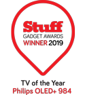 Stuff TV of the Year Philips OLED+ 984